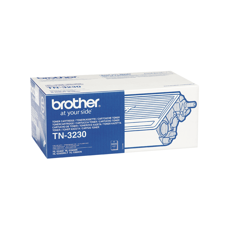 TN-3230 toner noir d'origine Brother à rendement standard 1