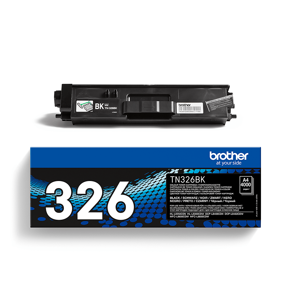 TN-326BK toner noir d'origine Brother à haut rendement