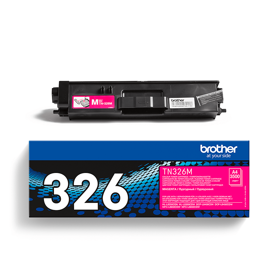 TN-326M originele magenta Brother toner met hoog rendement