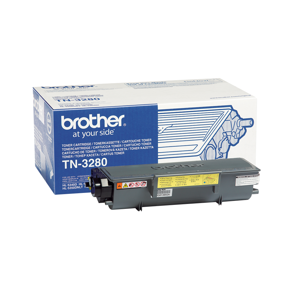 TN-3280 toner noir d'origine Brother à haut rendement