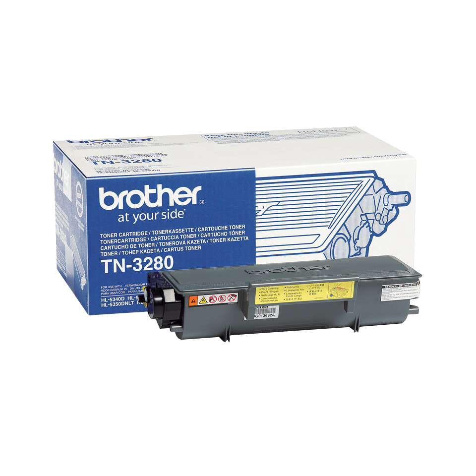 Brother TN3280 toner zwart - hoog rendement 2
