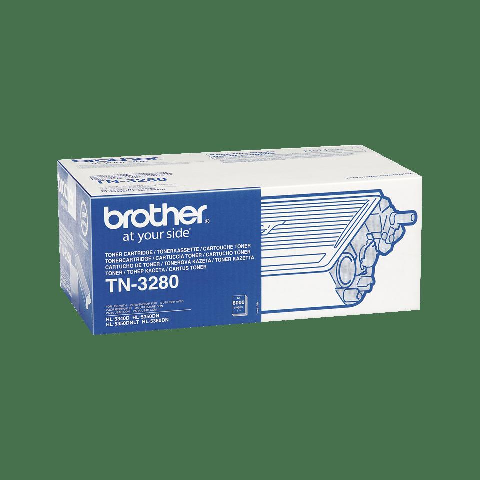 TN-3280 originele zwarte Brother toner met hoog rendement 2