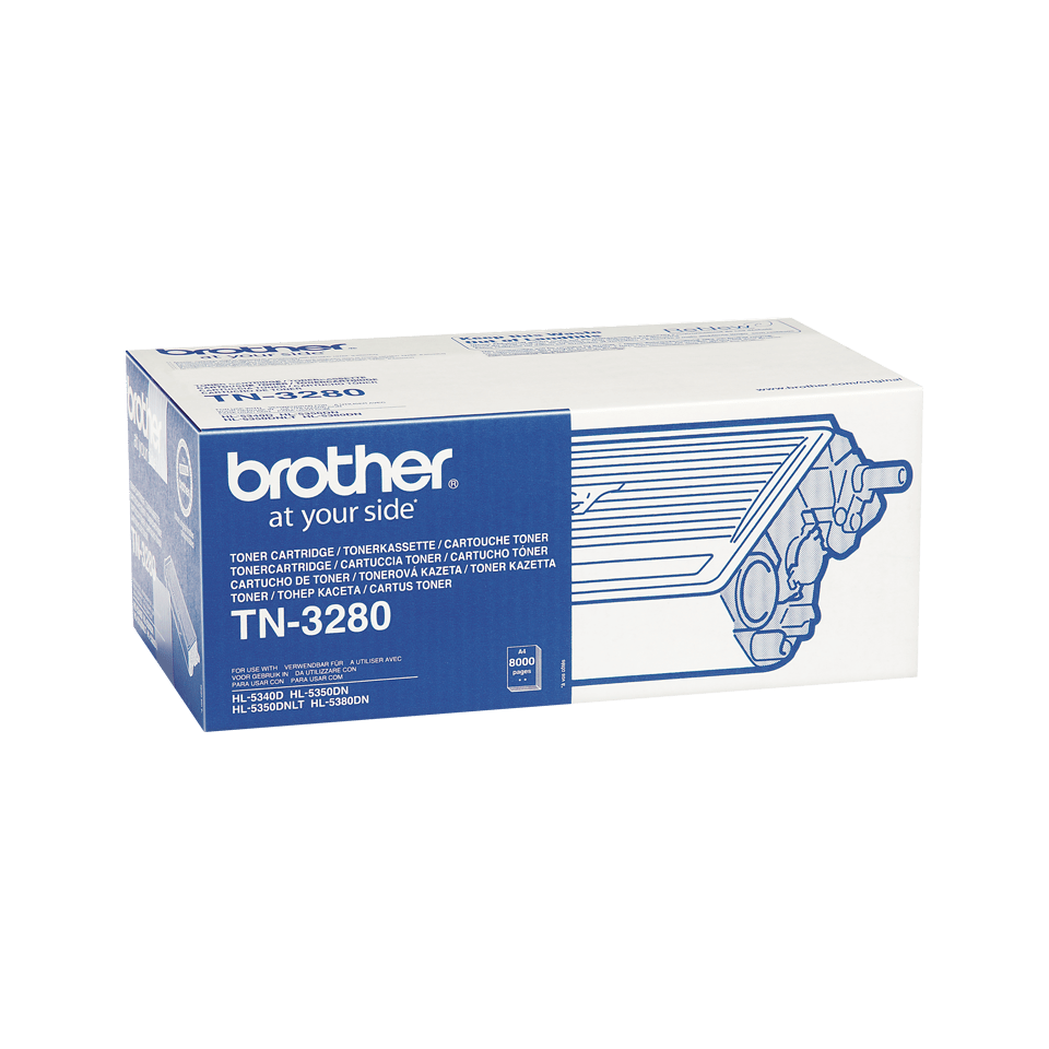 TN-3280 toner noir d'origine Brother à haut rendement