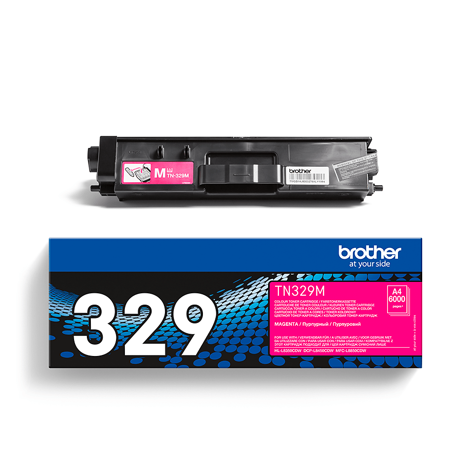 TN-329M originele magenta Brother toner met super hoog rendement