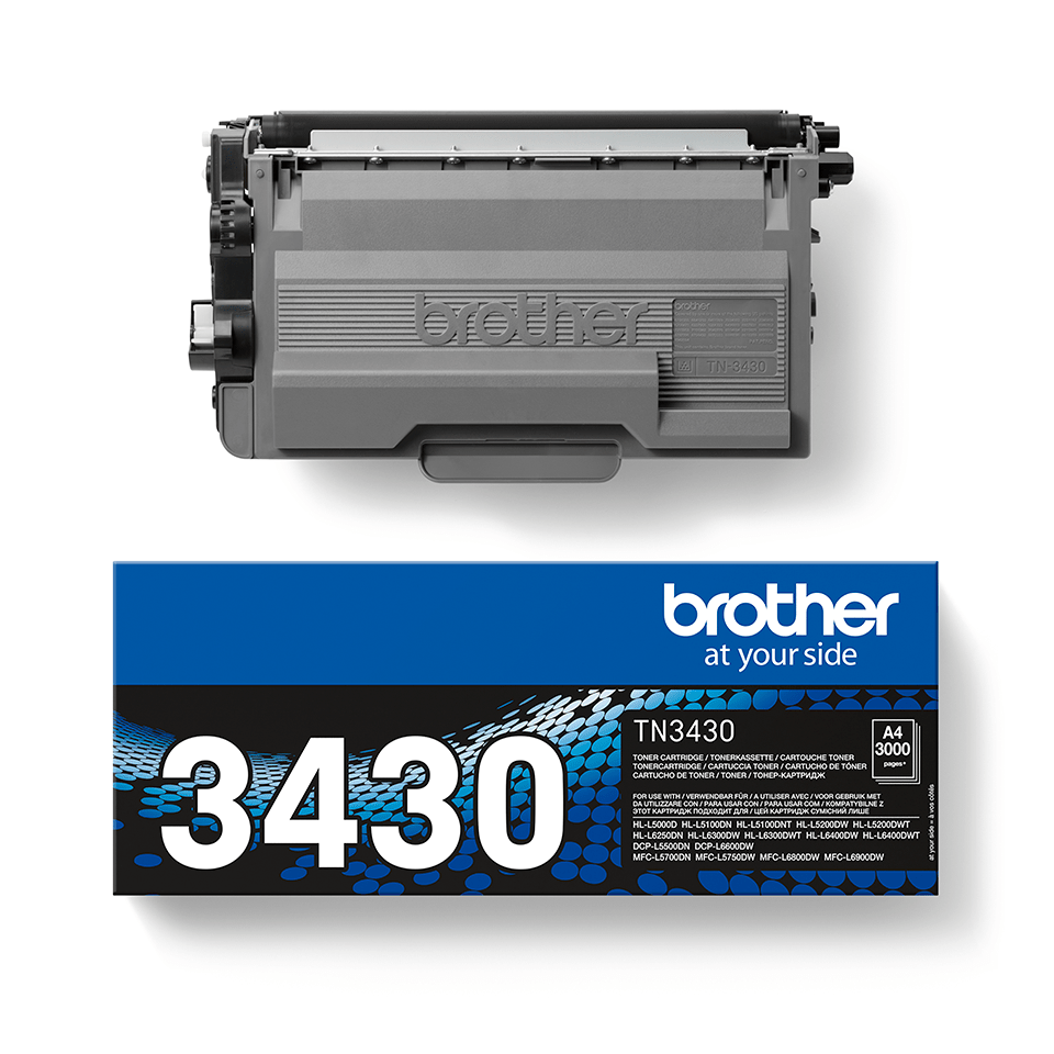 Brother TN3430 toner noir - rendement standard