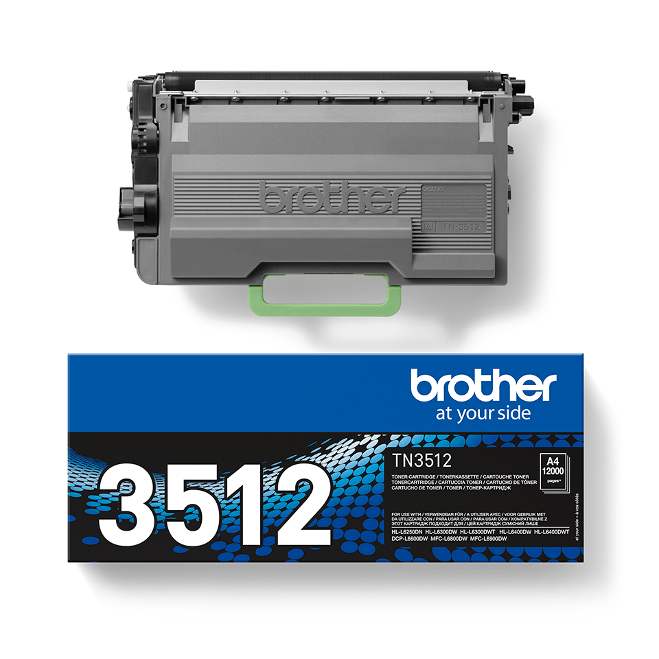 TN-3512 toner noir d'origine Brother à super haut rendement 1