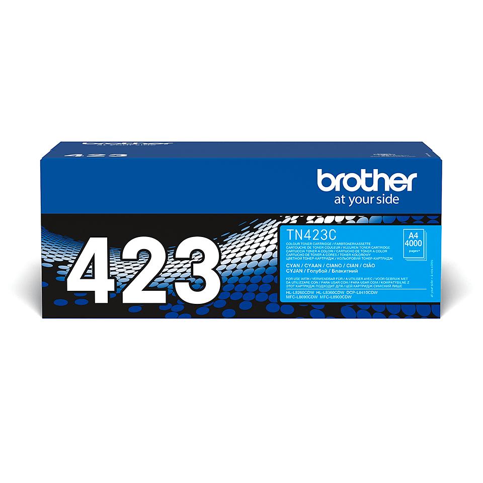 Brother TN423C toner cyan - haut rendement 2