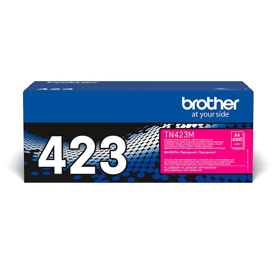 TN-423M toner magenta d'origine Brother à haut rendement 2
