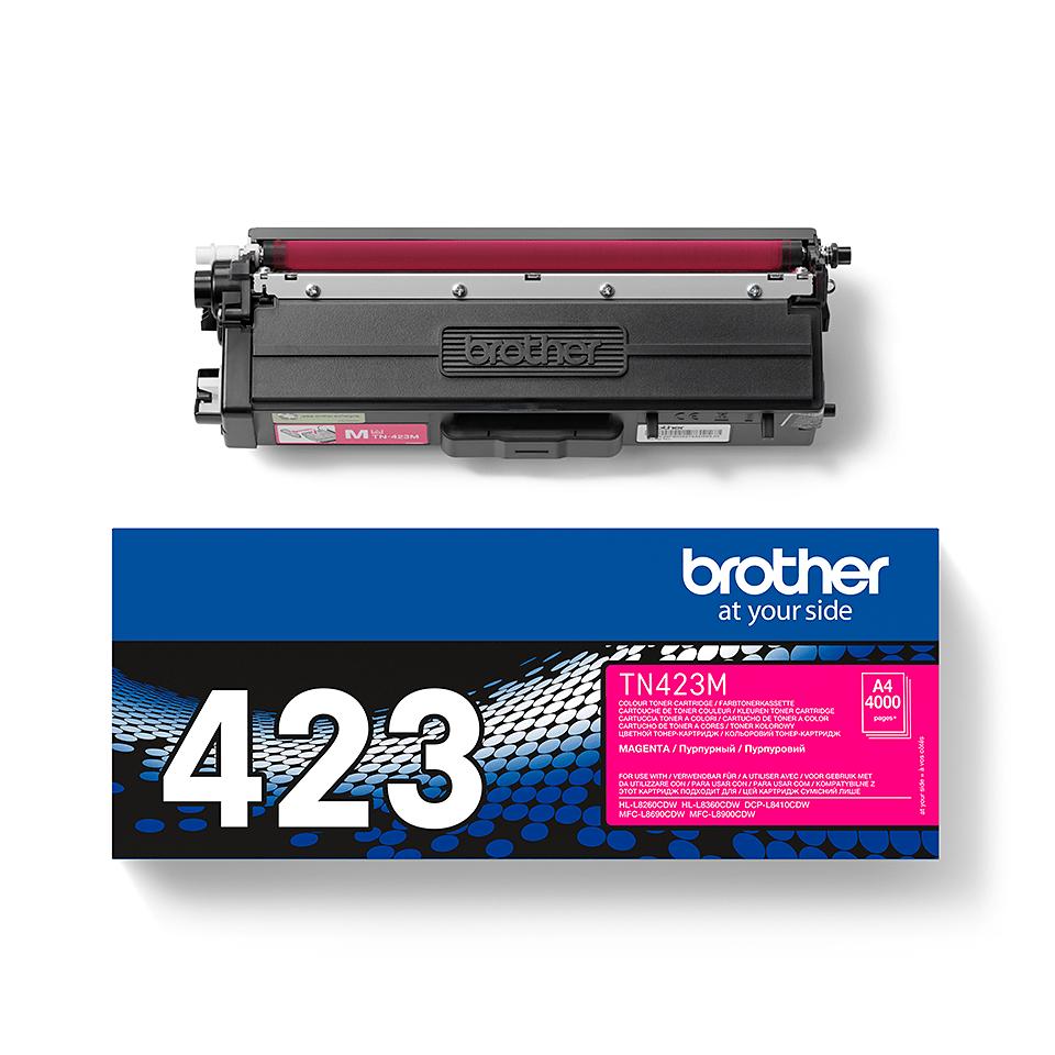 Brother TN423M toner magenta - haut rendement
