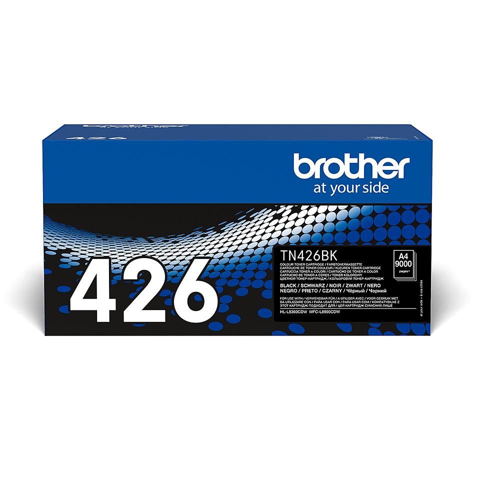 TN-426BK originele zwarte Brother toner met super hoog rendement
