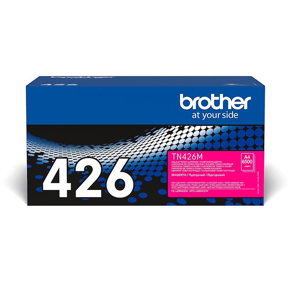 TN-426M originele magenta Brother toner met super hoog rendement
