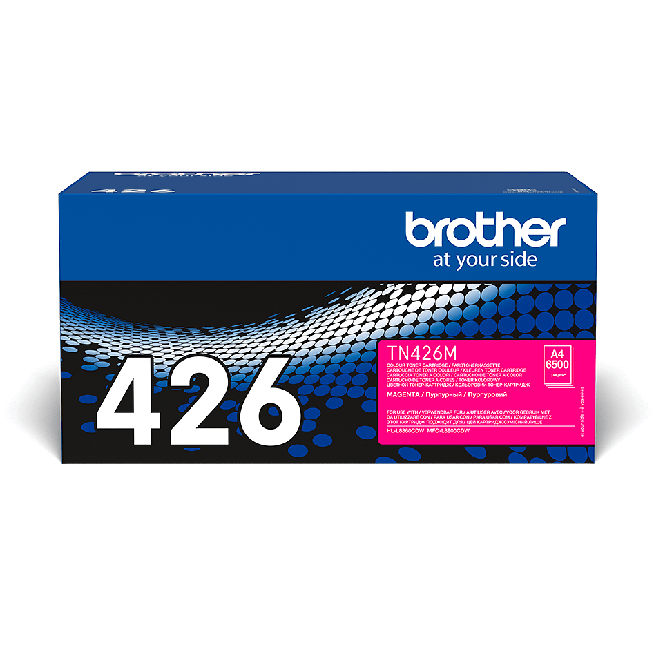 TN-426M originele magenta Brother toner met super hoog rendement