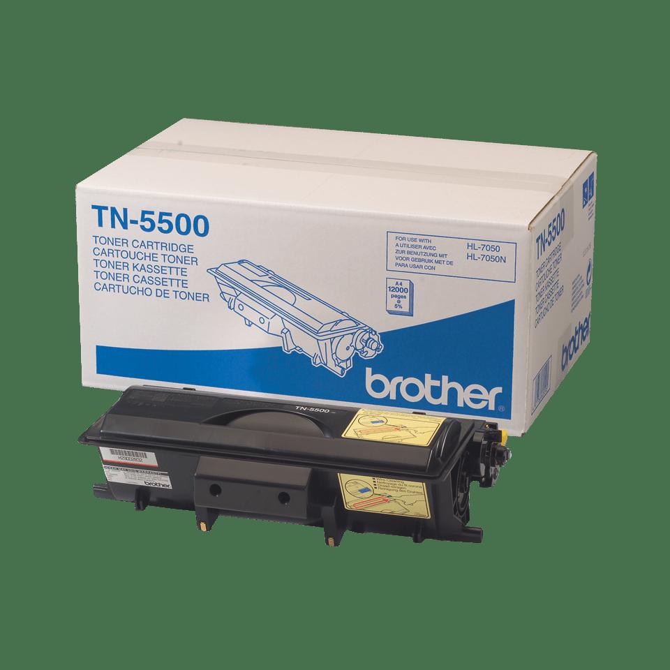 TN-5500 toner noir d'origine Brother