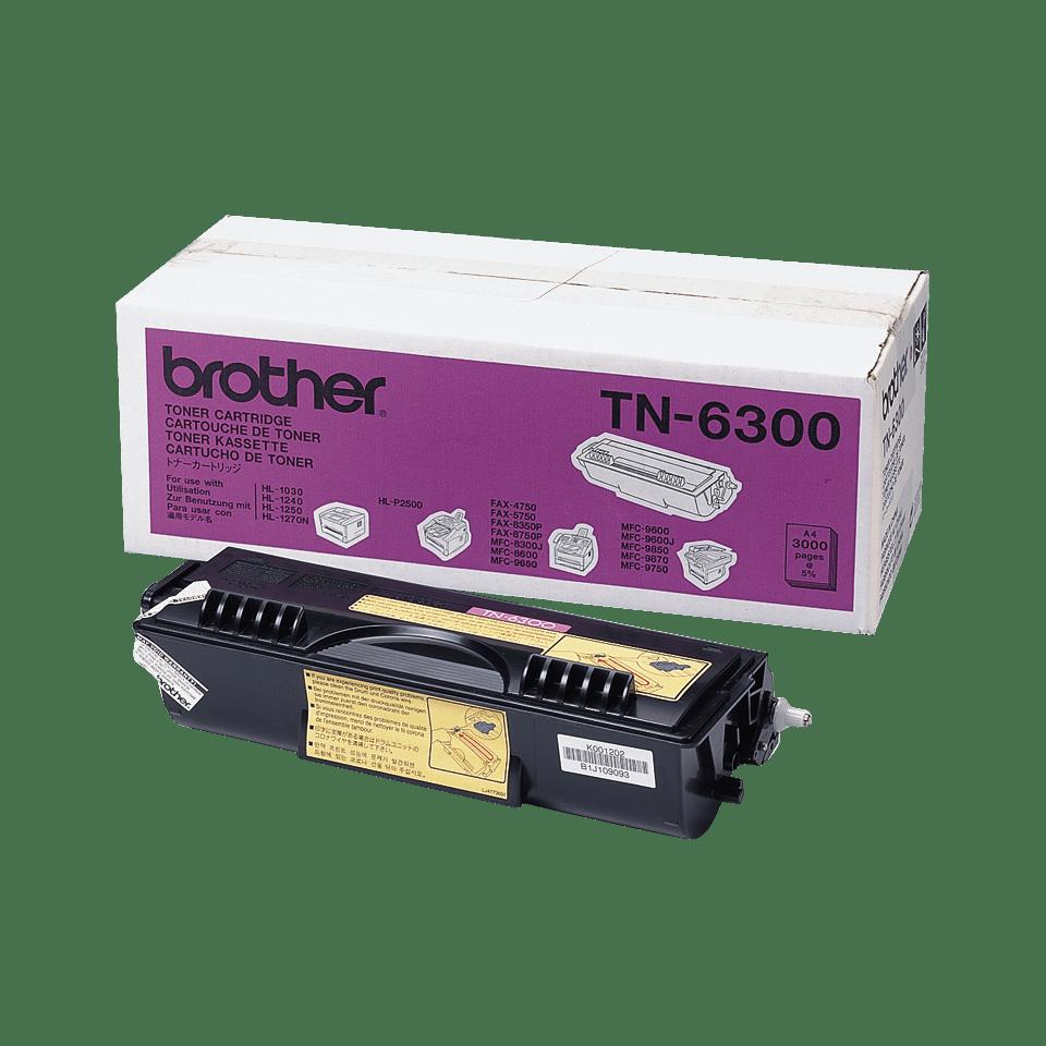 TN-6300 originele zwarte Brother toner met standaard rendement