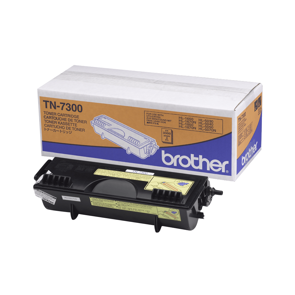 TN-7300 toner noir d'origine Brother à rendement standard