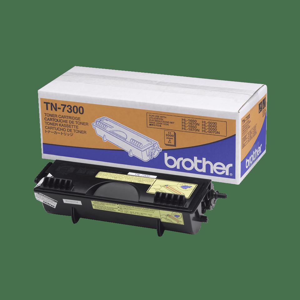 TN-7300 originele zwarte Brother toner met standaard rendement 0