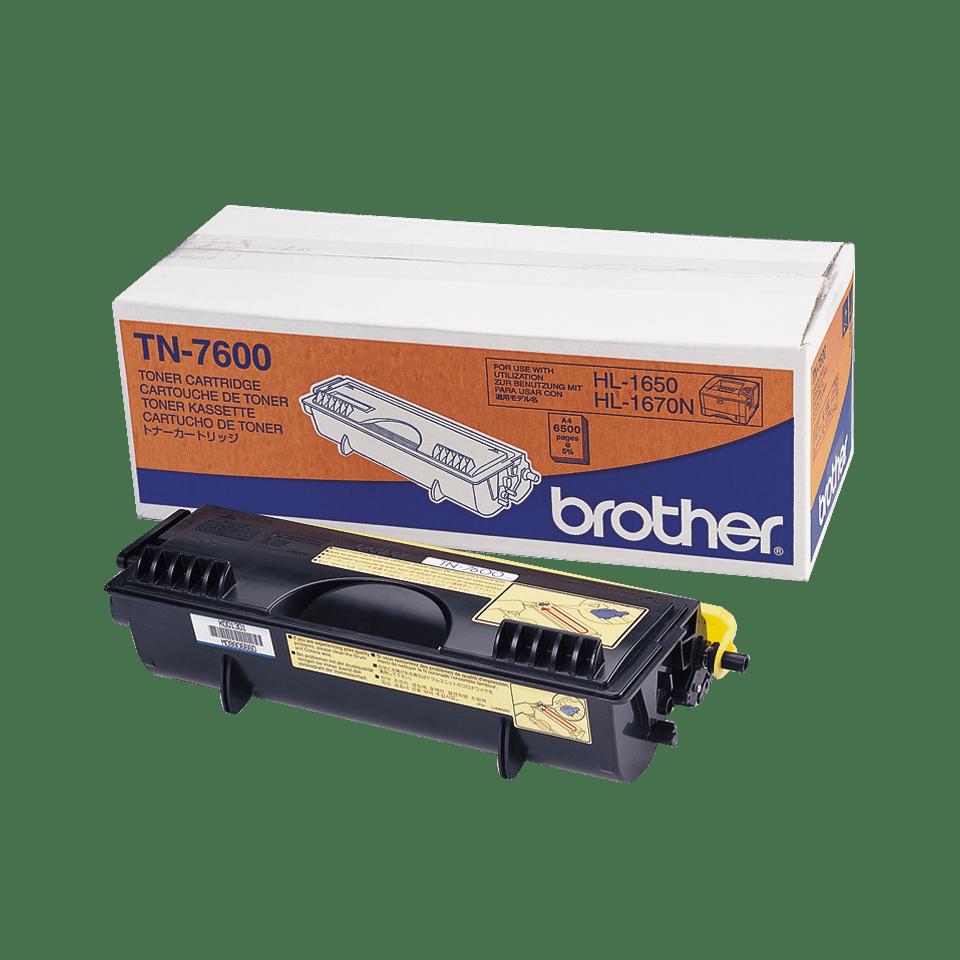 TN-7600 originele zwarte Brother toner met hoog rendement