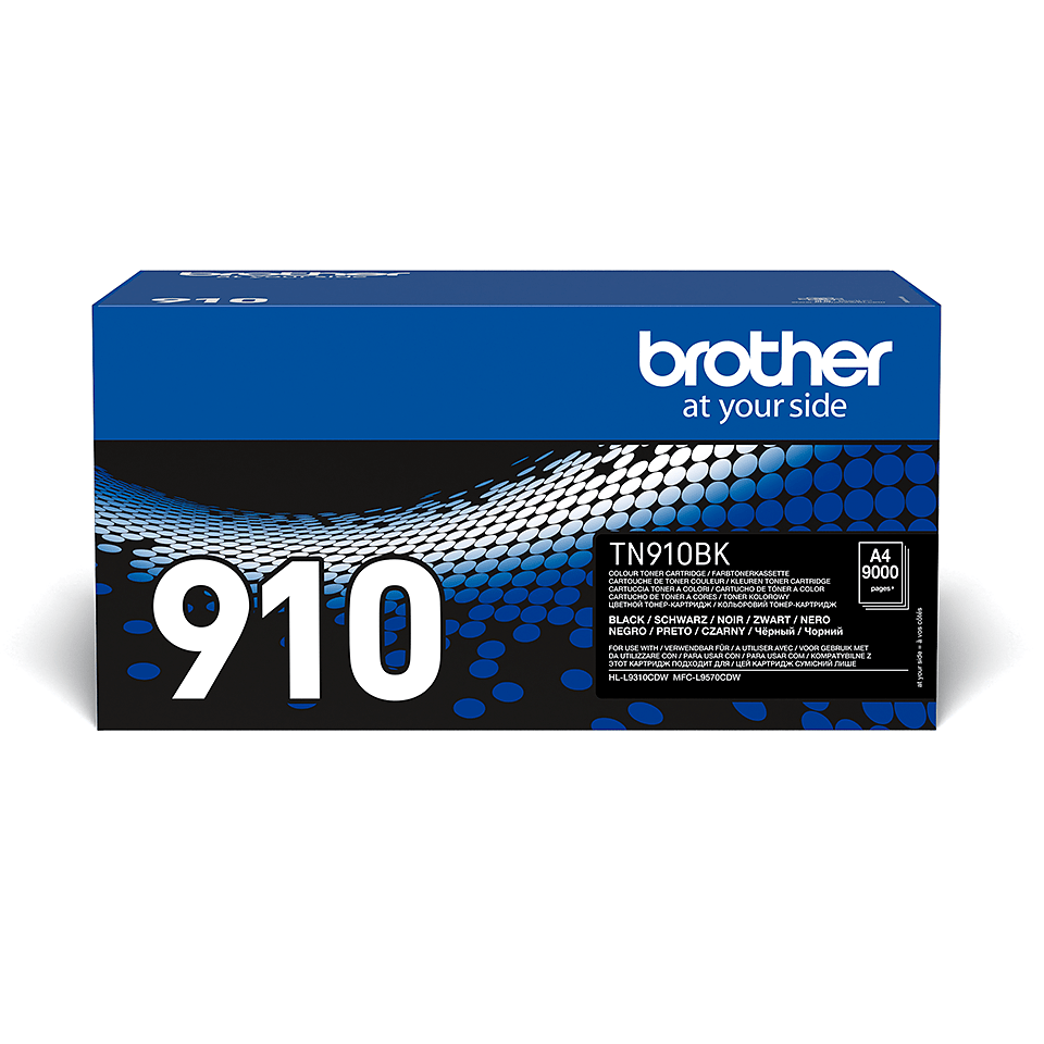 TN-910BK toner noir d'origine Brother à ultra haut rendement