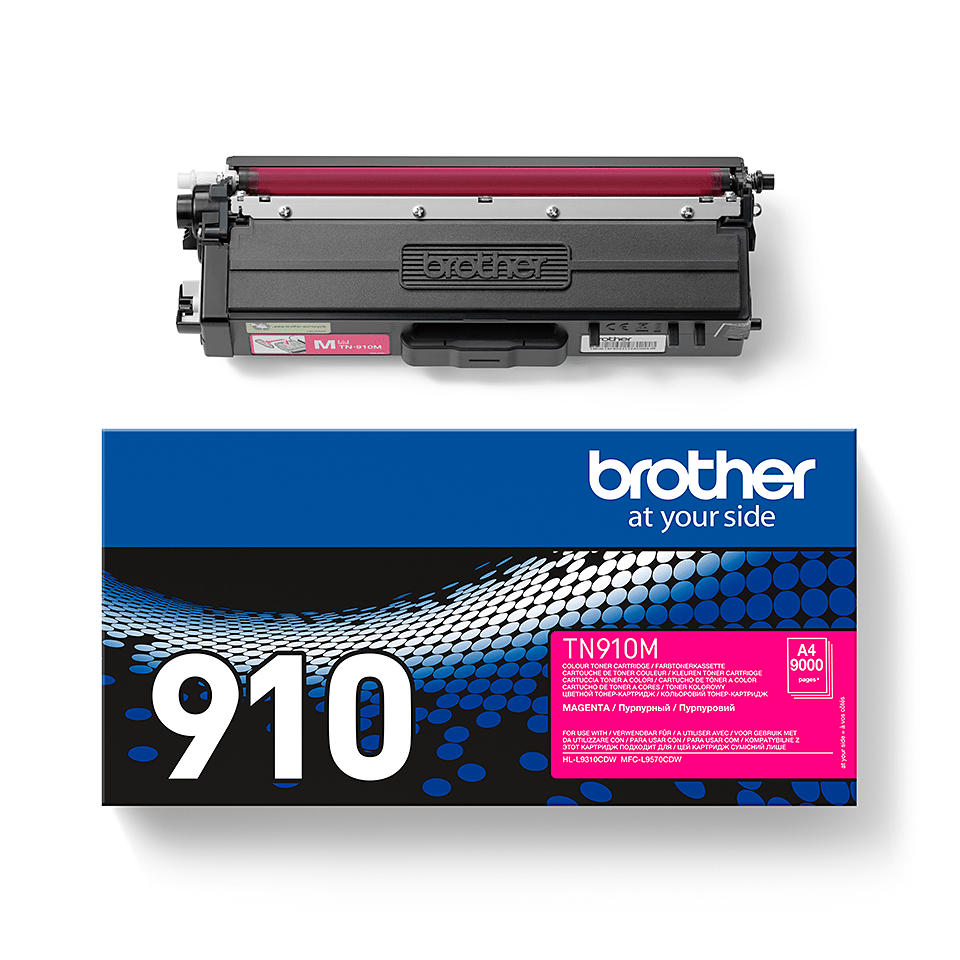 Brother TN910M toner magenta - ultra hoog rendement