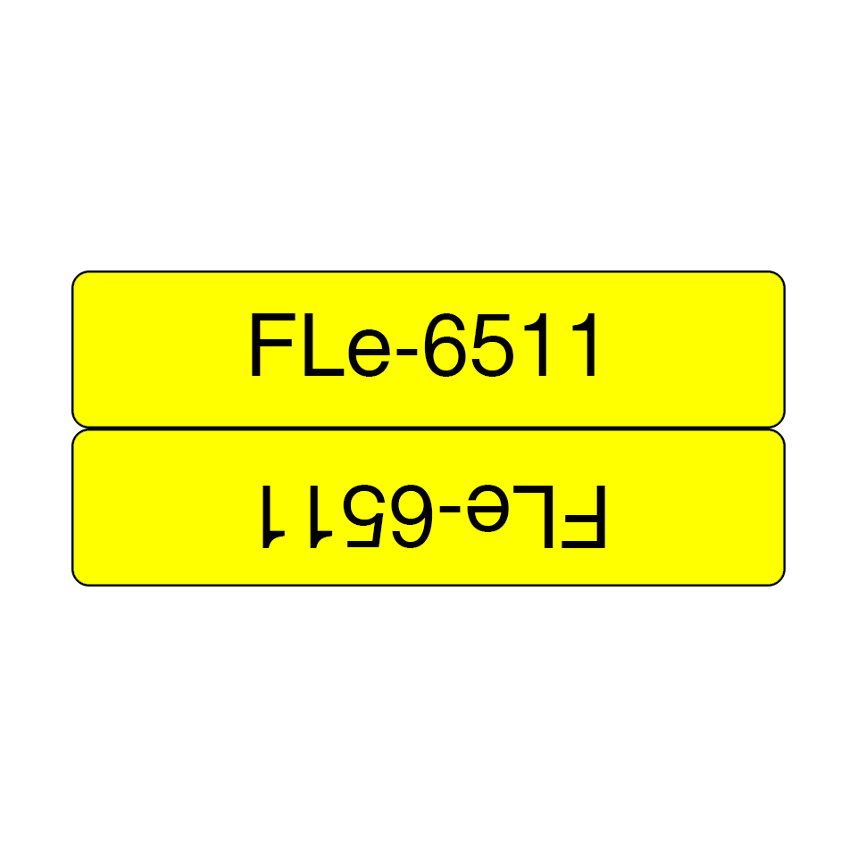 Originele Brother FLe-6511 vlagtape labels