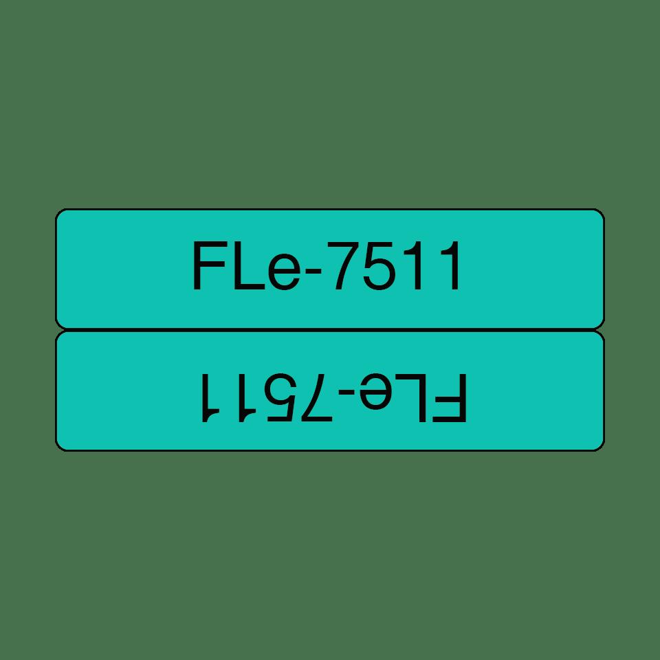 FLe-7511 ruban d'étiquettes drapeaux Brother originales