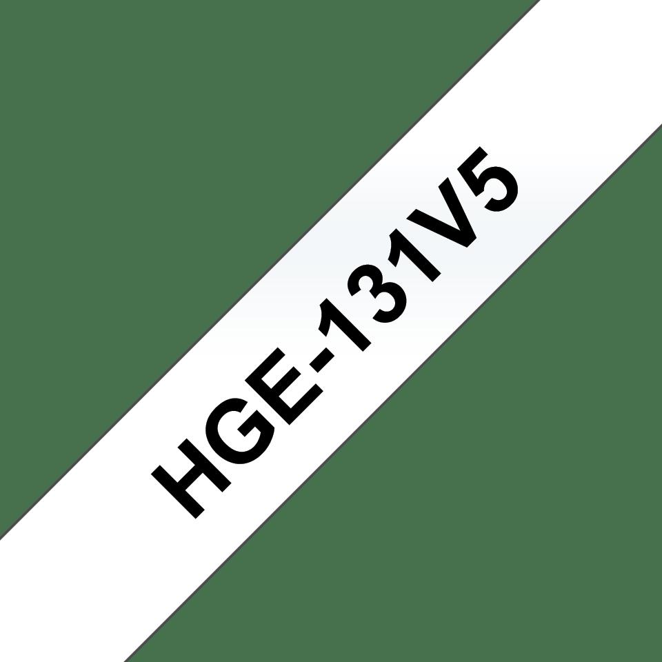 Originele Brother HGe-131V5 high grade labels