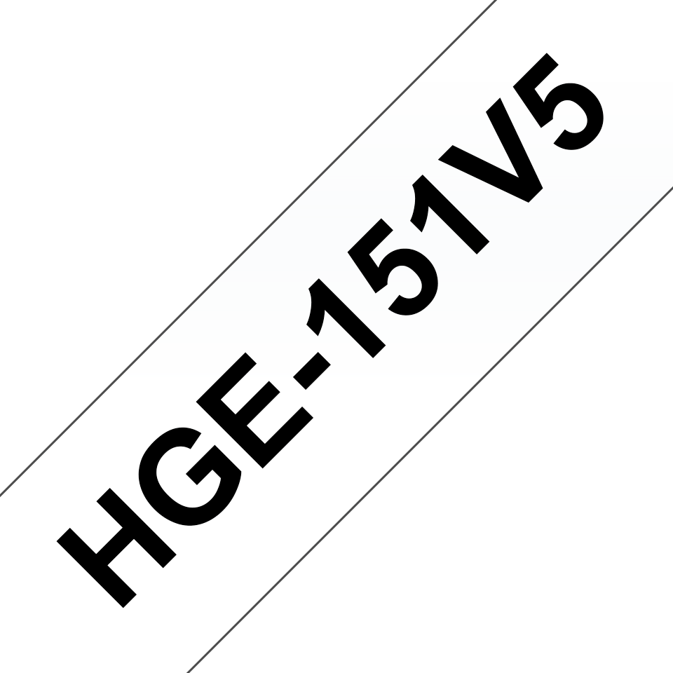Originele Brother HGe-151V5 high grade labels