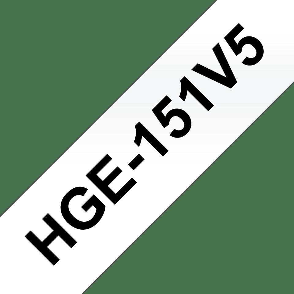 HGe-151V5 étiquettes de haute qualité Brother originales