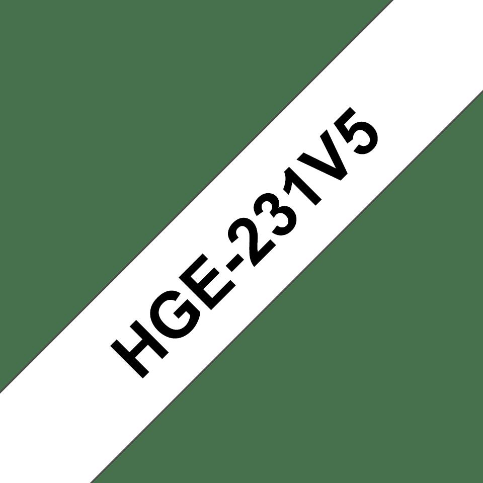 HGe-231V5 étiquettes de haute qualité Brother originales