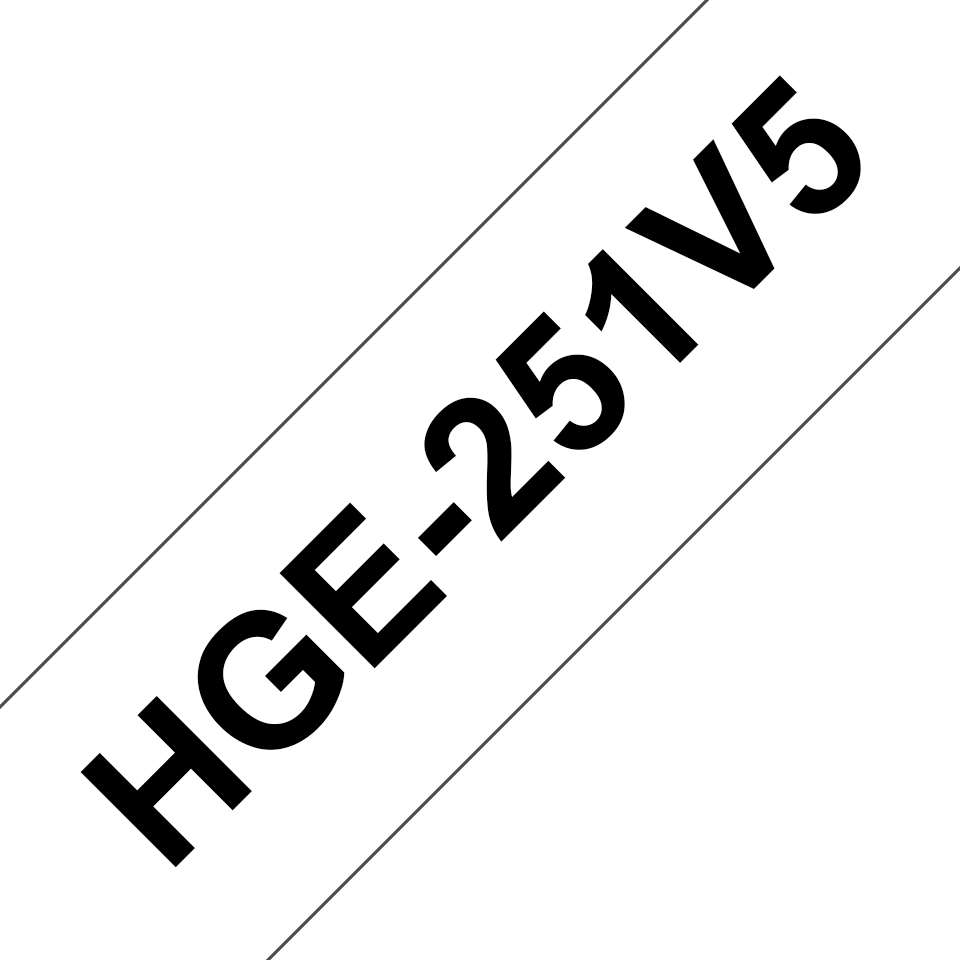 Originele Brother HGe-251V5 high grade labels