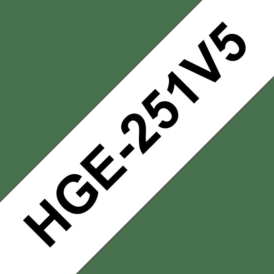 HGe-251V5 étiquettes de haute qualité Brother originales