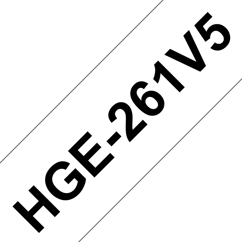 Originele Brother HGe-261V5 high grade labels