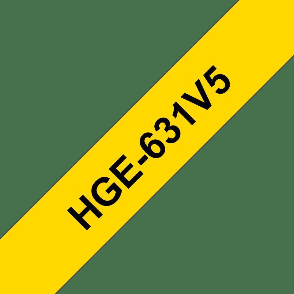 HGe-631V5 étiquettes de haute qualité Brother originales