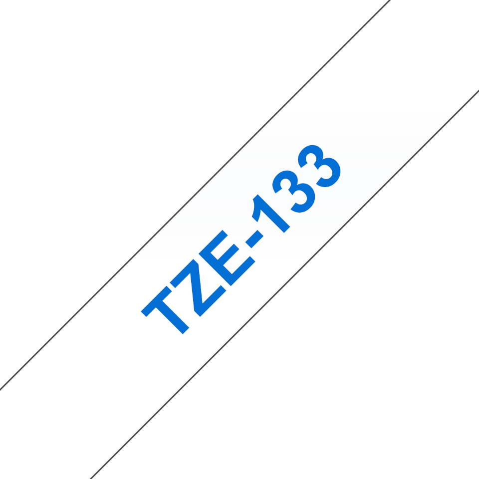 Brother TZe-133 12mm labeltape