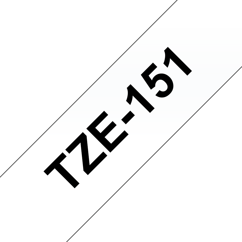 Brother TZe-151 24mm labeltape