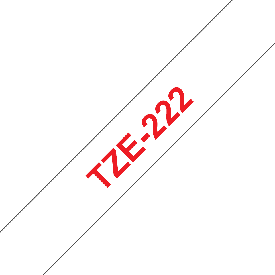 Brother TZe-222 9mm labeltape