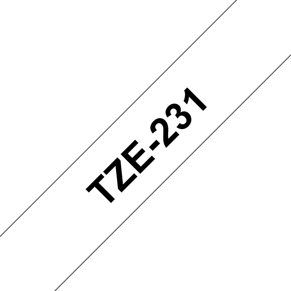 Brother TZe-231 12mm labeltape