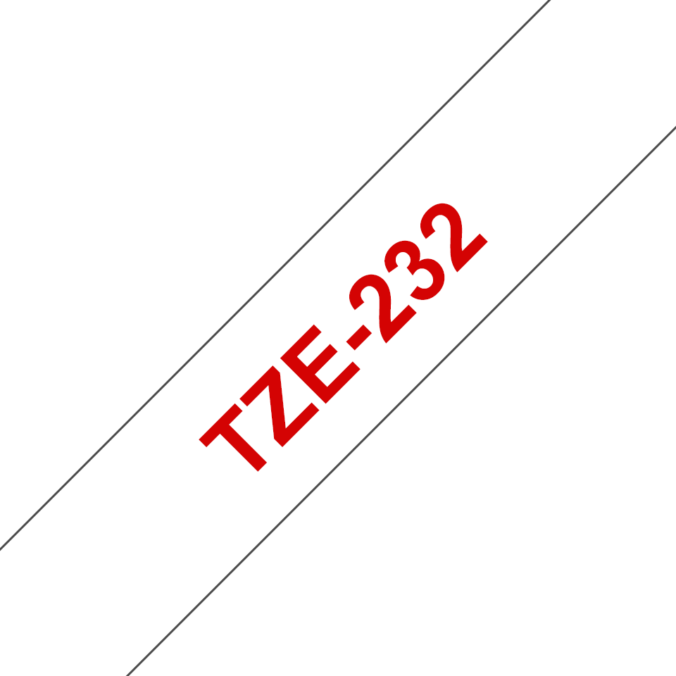 Brother TZe-232 12mm labeltape