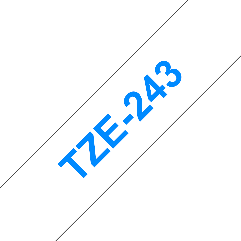 Brother TZe-243 18mm labeltape