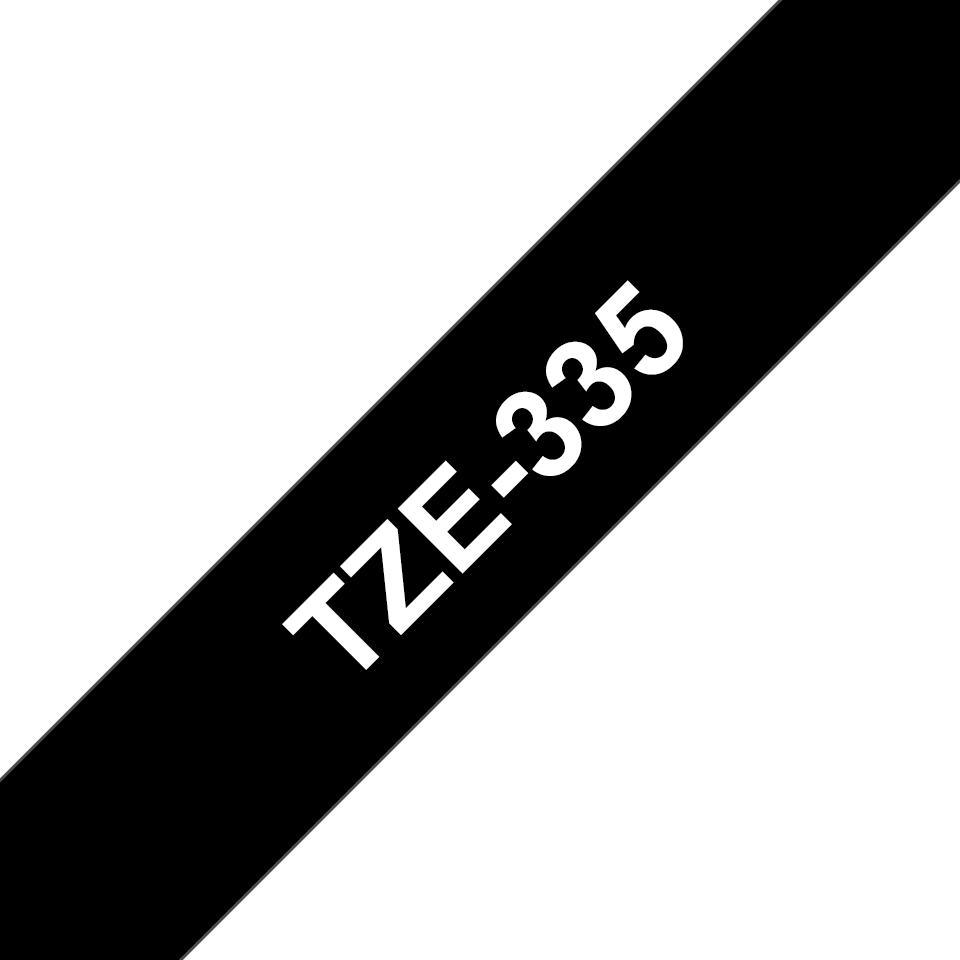 Brother TZe-335 12mm labeltape