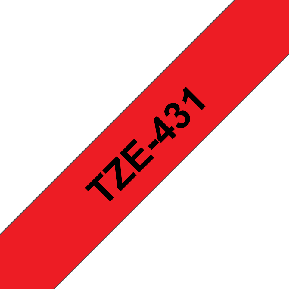 Brother TZe-431 12mm labeltape