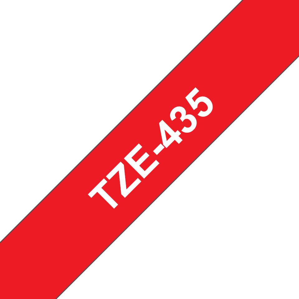 Brother TZe-435 12mm labeltape