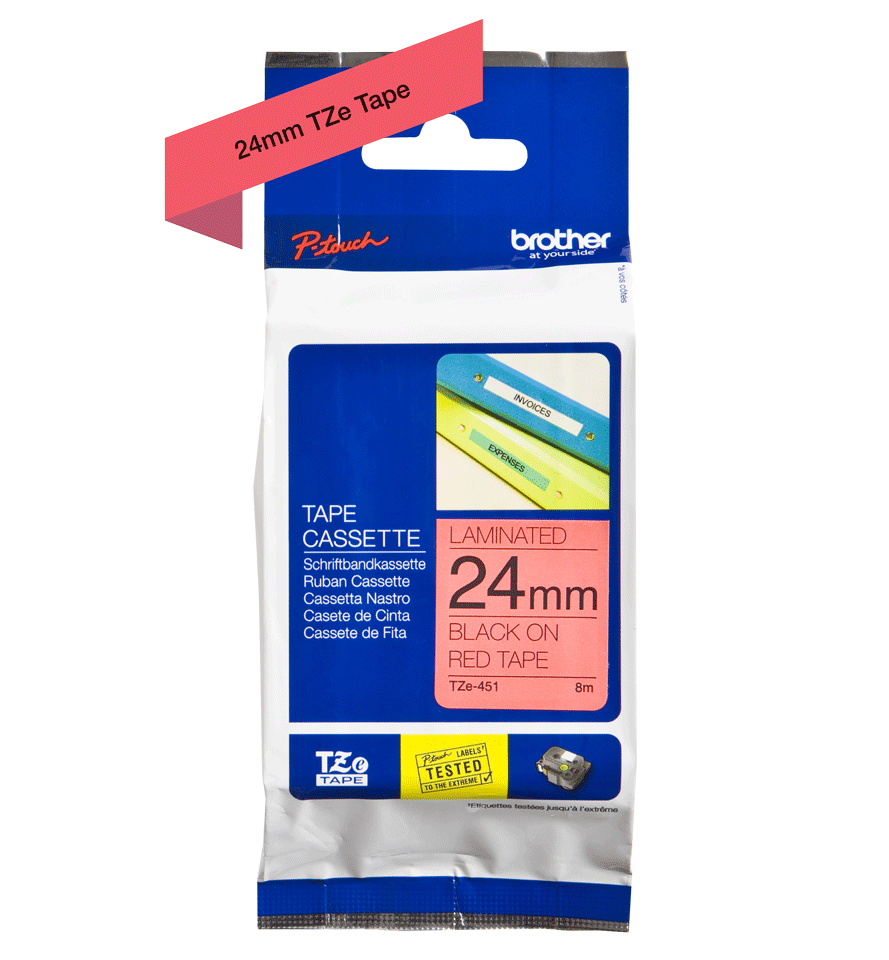 Brother TZe-451 24mm labeltape 4