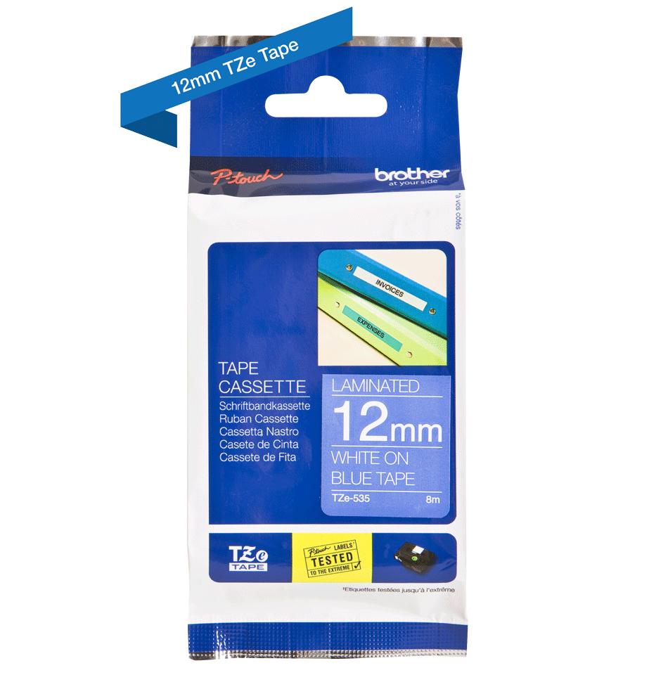 Brother TZe-535 12mm labeltape 3