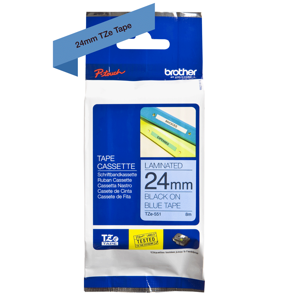 Brother TZe-551 24mm labeltape 3