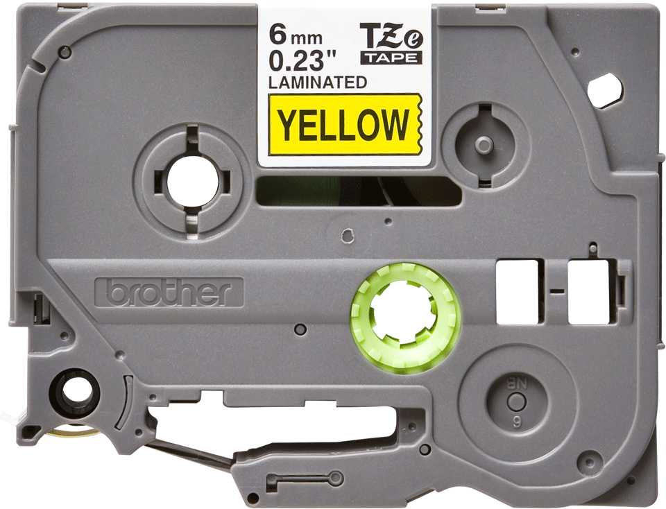 Brother TZe-611 6mm labeltape 2