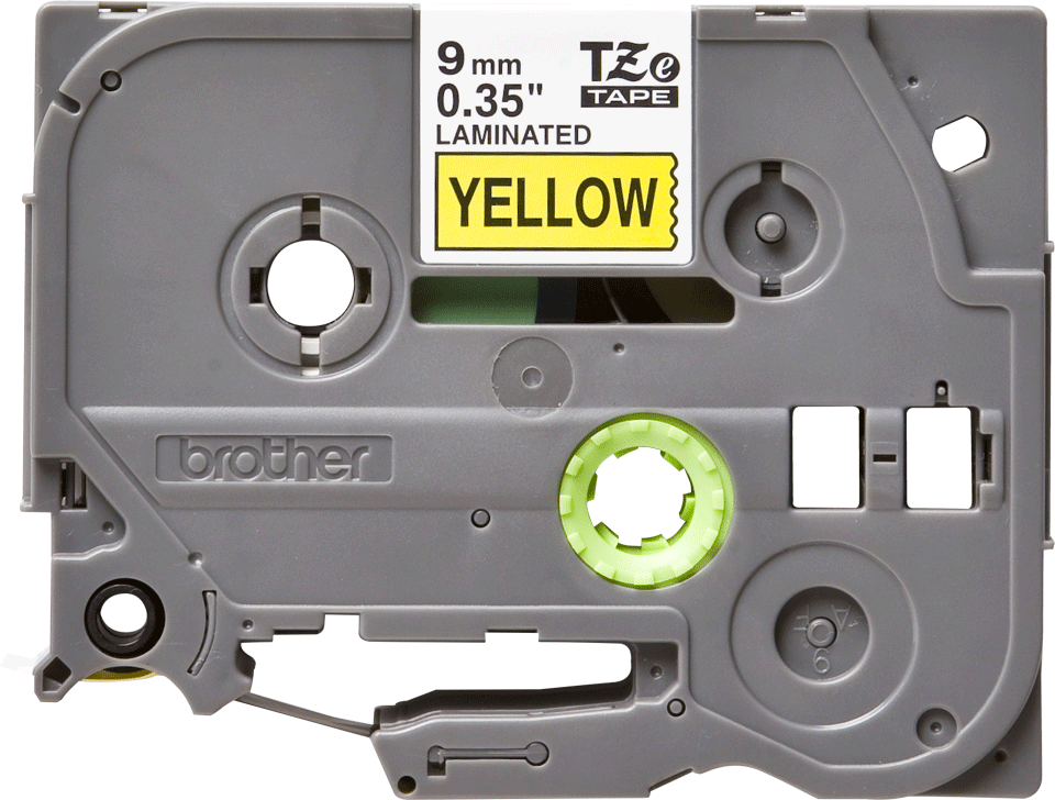 Brother TZe-621 9mm labeltape 2