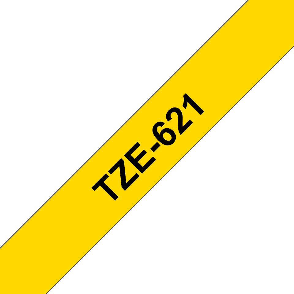 Brother TZe-621 9mm labeltape