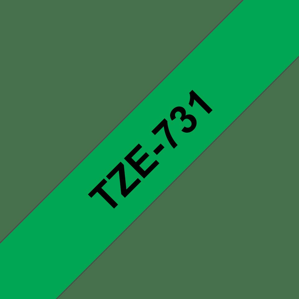 Brother TZe-731 ruban d'étiquettes 12mm