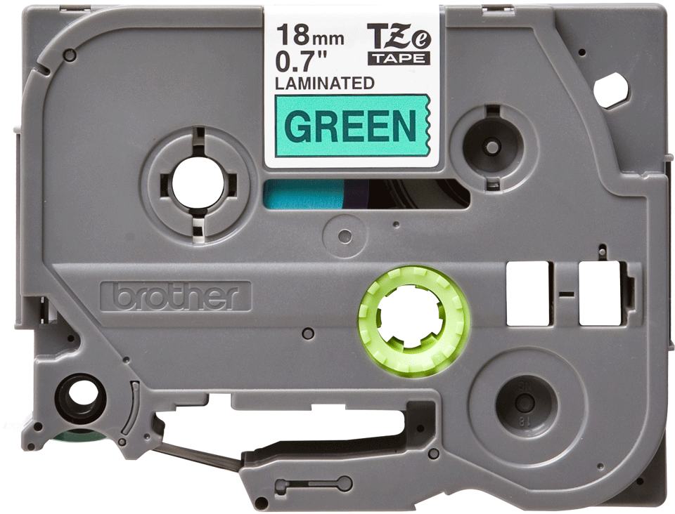 Brother TZe-741 18mm labeltape 2